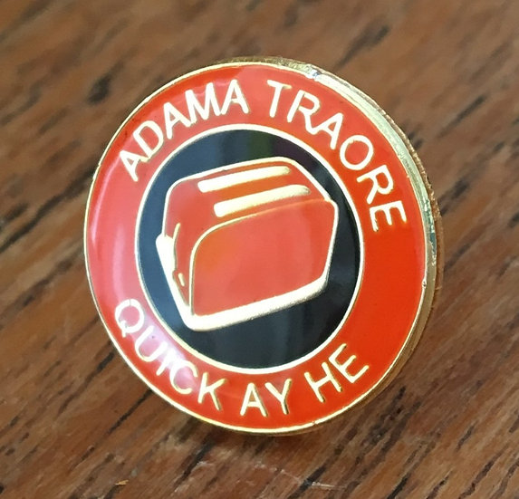 ADAMA TRAORE Toaster Badge (Gold/Black/Gold) AT2