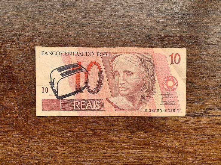 Toaster Money (Brazilian Reais)