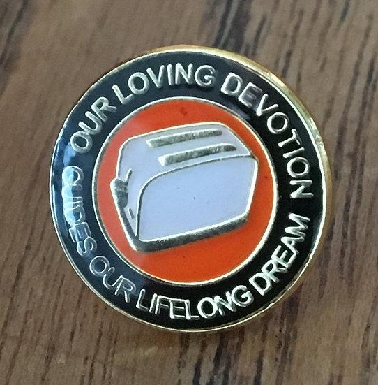 OLD GOLD Toaster Badge (Black/Gold/White) OG5
