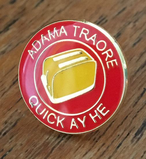 ADAMA TRAORE Toaster Badge (Red/Red/Yellow) AT9