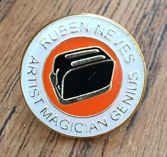 NEVES Toaster Badge (White/Gold/Black) RN10
