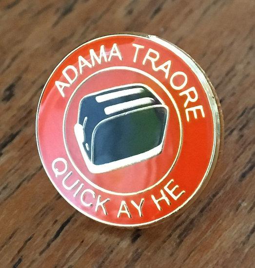 ADAMA TRAORE Toaster Badge (Gold/Gold/Black) AT5