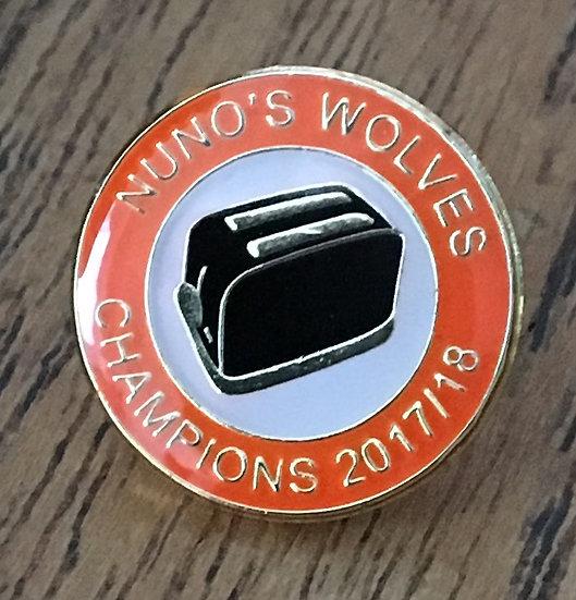 CHAMPIONS Toaster Badge (Gold/White/Black) C2