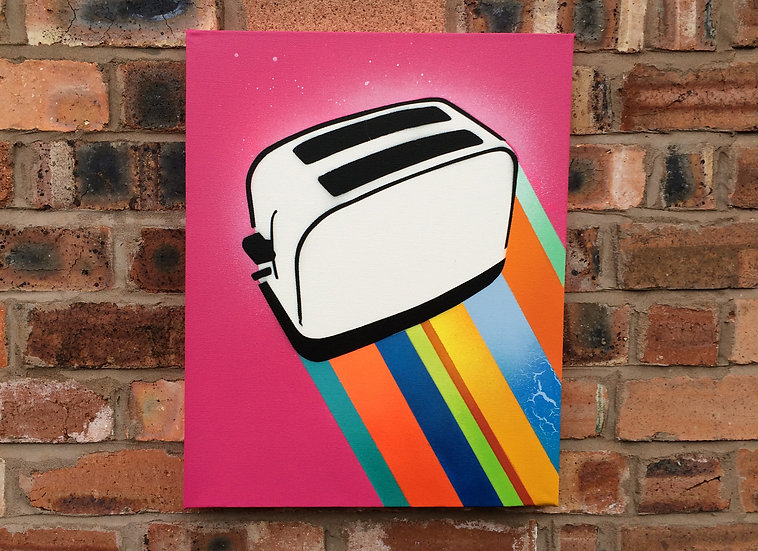 Toaster Beams (Pink/Light Pink Haze)
