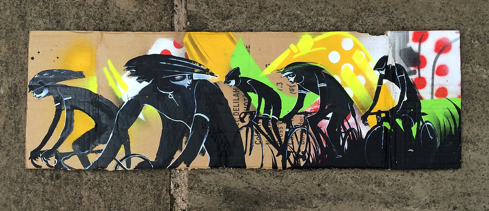 Within The Peloton (Toaster x Will Barras collab)