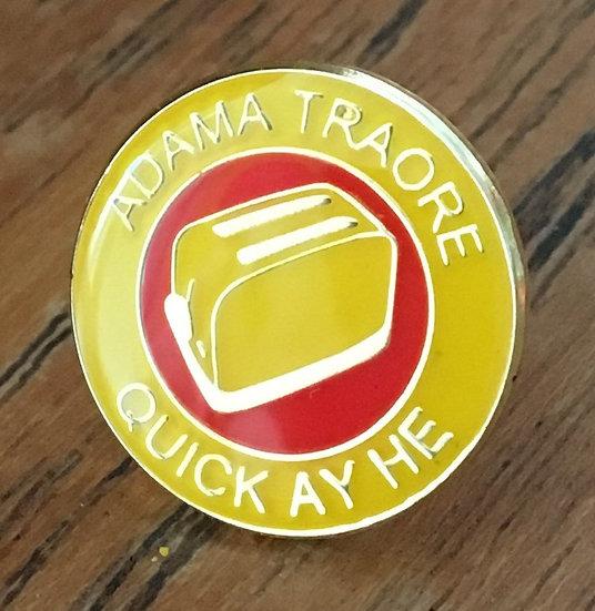 ADAMA TRAORE Toaster Badge (Yellow/Red/Yellow) AT8