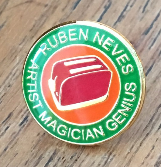 NEVES Toaster Badge (Green//Gold/Red) RN22