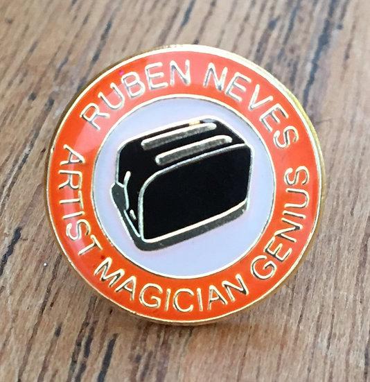 NEVES Toaster Badge (Gold/White/Black) RN8