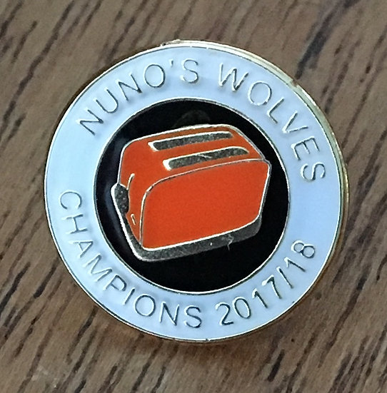 CHAMPIONS Toaster Badge (White/Black/Gold) C5