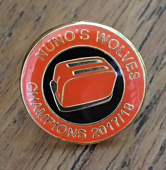 CHAMPIONS Toaster Badge (Gold/Black/Gold) (B)