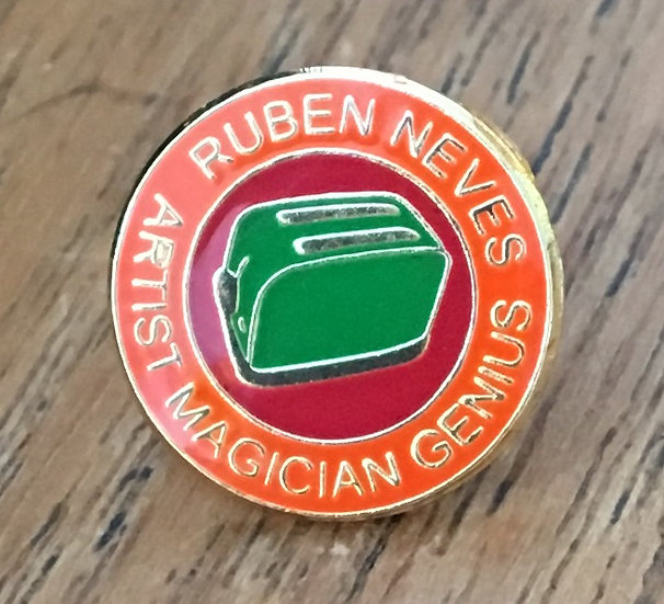 NEVES Toaster Badge (Gold/Red/Green) RN18
