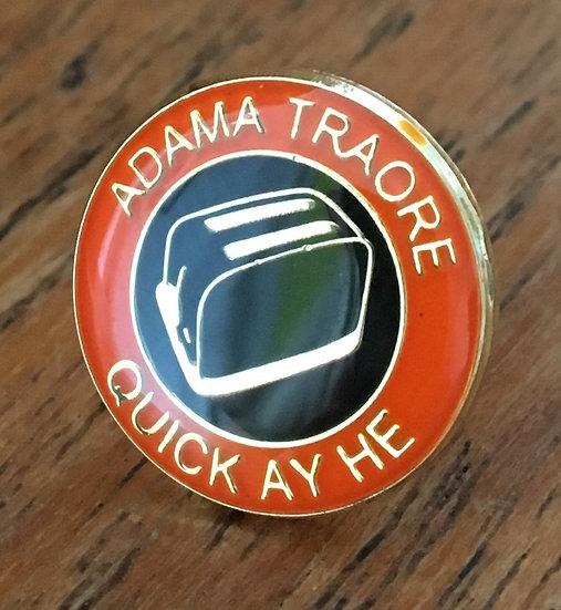 ADAMA TRAORE Toaster Badge (Gold/Black/Black) AT6