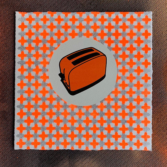 Classic A/P (Hand Finished) Fluoro Orange Shadow Cross