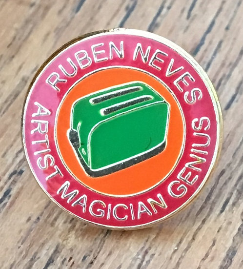 NEVES Toaster Badge (Red/Gold/Green) RN21