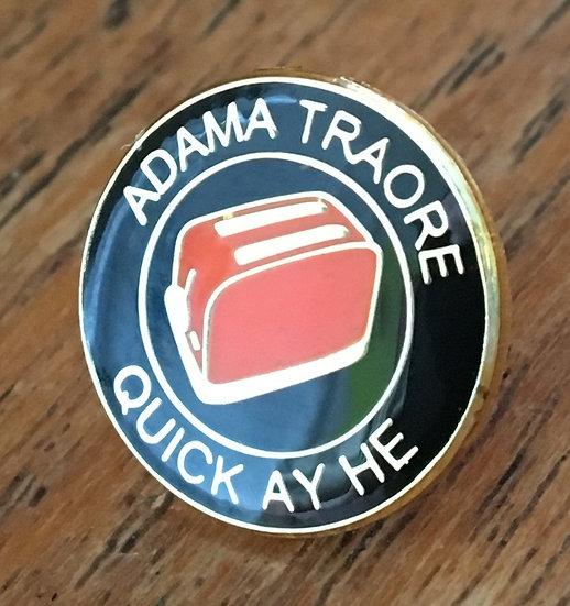 ADAMA TRAORE Toaster Badge (Black/Black/Gold) AT4