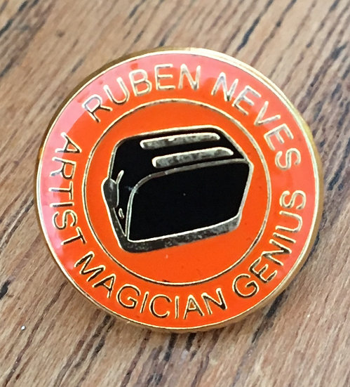 NEVES Toaster Badge (Gold/Gold/Black) RN5