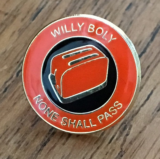 WILLY BOLY Toaster Badge (Gold/Black/Gold) (E)