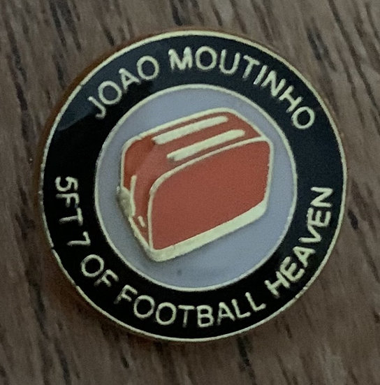Moutinho Badge (Black/White/Gold) (H)