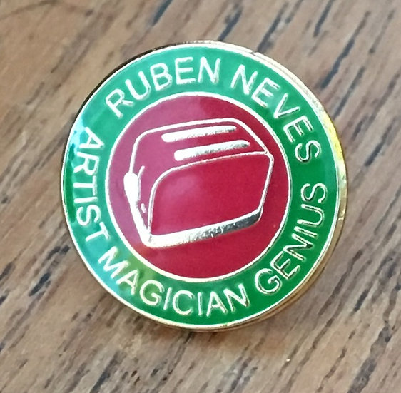 NEVES Toaster Badge (Green/Red/Red) RN20