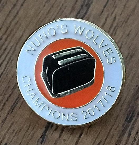 CHAMPIONS Toaster Badge (White/Gold/Black) C4