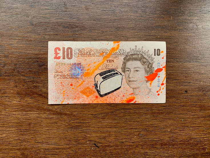 Toaster Money (British Pound)