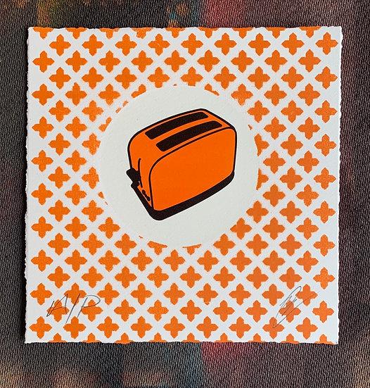 Classic A/P (Hand Finished) Orange Cross