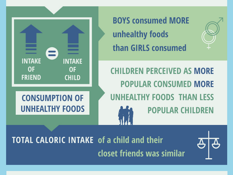 Influence of Friendship Networks on Youth Dietary Behaviours