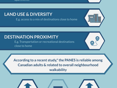 Measuring Canadian Perceptions of Neighbourhood Environments and Physical Activity