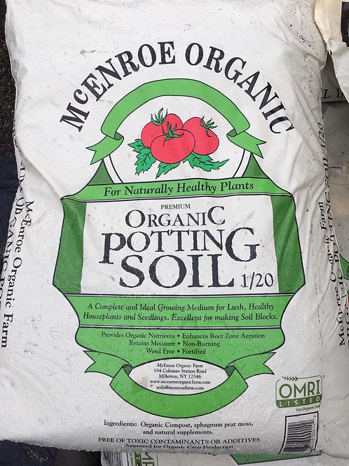 Potting Soil- Certified Organic- 1/20 cu. yard.