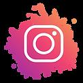 Instagram-logo-modern-paint-splash-socia