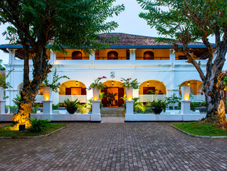 A taste of a colonial history meets Sri Lanka luxury & style....