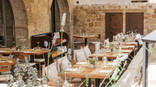 A magical blend of Tuscan village life and boutique charm greets you at La Bandita Townhouse...