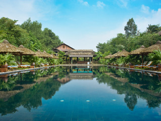 Offering a picturesque setting close to the UNESCO city of Hue in Vietnam!