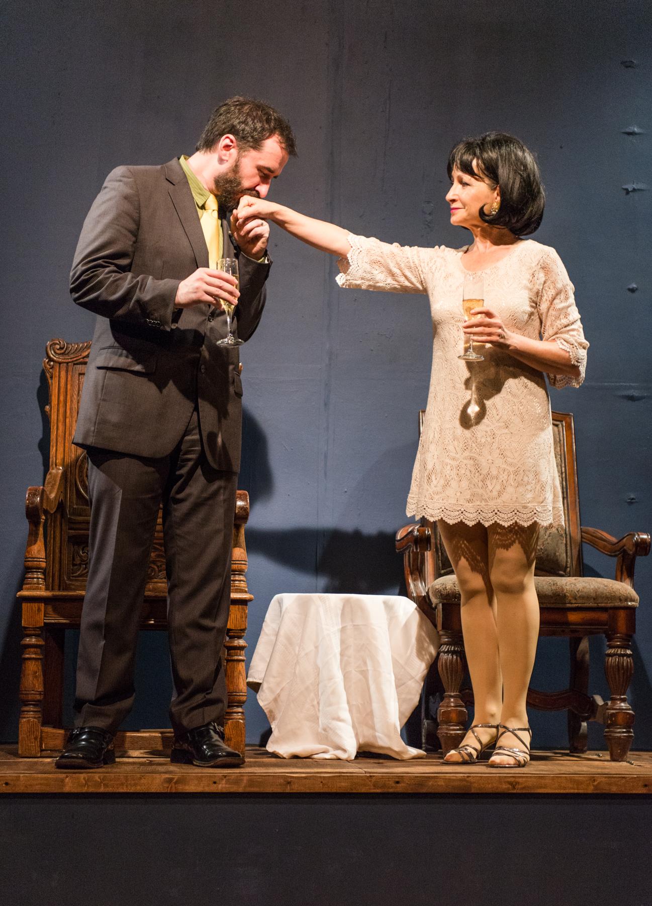 Gertrude in Hamlet, w Jason Wilson