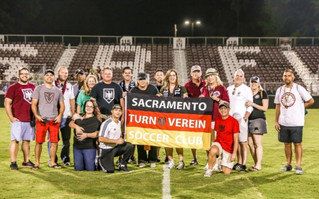 Honored By Sac Republic FC