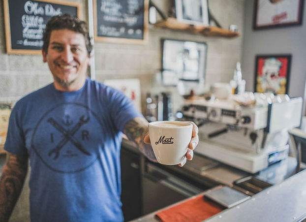 Morning coffee in Midtown Sacramento