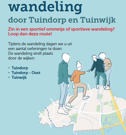 Een sportieve wandeling door Tuindorp en Tuinwijk
