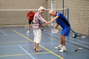 De Derde Helft: badminton