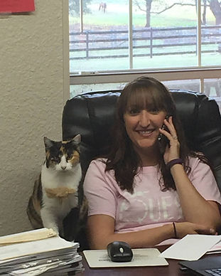 Amanda Fastle with cat at Wylie.jpg