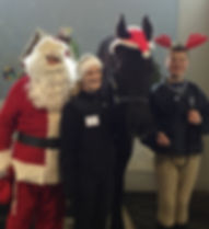 Santa, Jen Donahue, Hampton and Client W