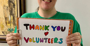 National Volunteer Appreciation Week (4/19 - 4/25)