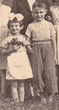 Gisela Kauffman is the orphan Franci adopted in Terezin