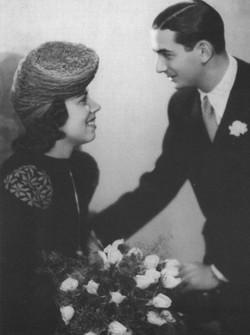 Franci with first husband Joseph Solar 1940