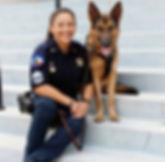 Deputy Alexander and K9 Yort