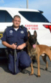 Officer Hicks and K9 Ace