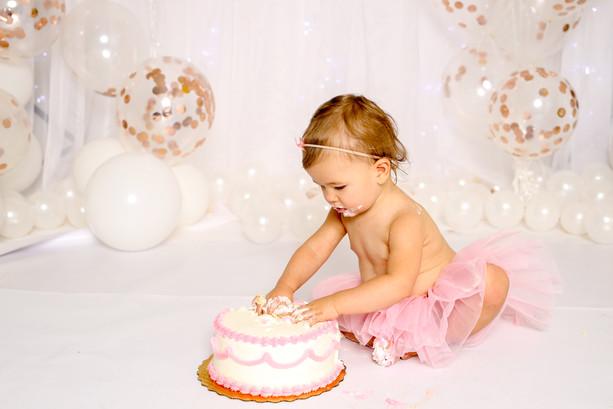 Smash cake sessions