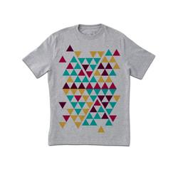Cool Triangles Print T-Shirt