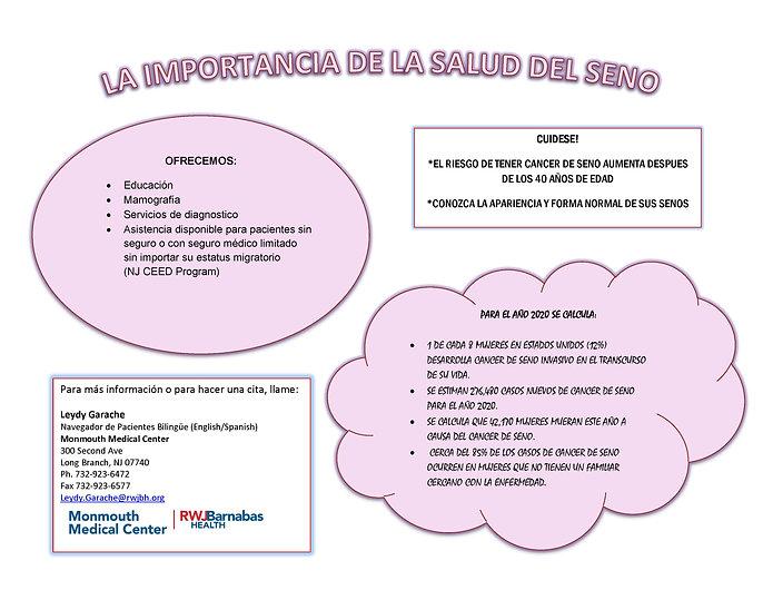 Spanish Leydy's Breast Screening Flyer.j
