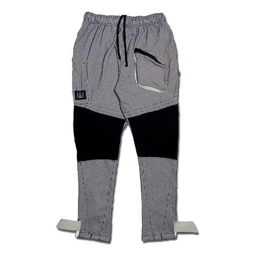 K1111 : HOUNDSTOOTH Cargo Joggers