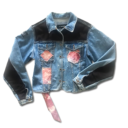 1/1 'Lost In The Mountains' Denim Jacket